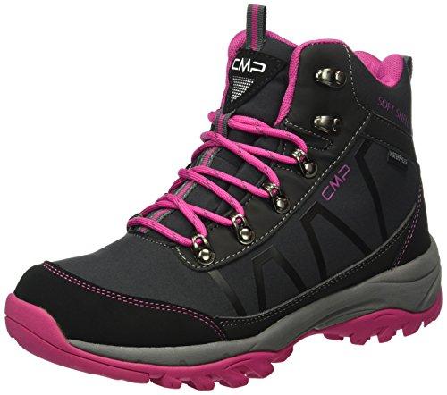 C.P.M. Soft Naos - Zapatillas de senderismo Mujer Negro (Asphalt)