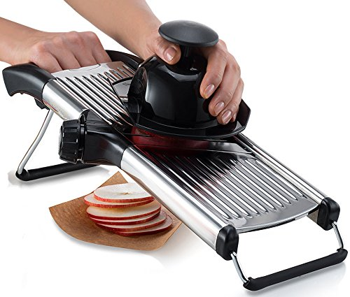 Gourmia GMS9105 Adjustable Stainless Steel Mandoline Slicer