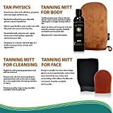 Tan Physics & EviLuxe Deluxe Tanning Mitt Bundle