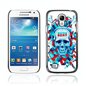 CQ Tech Phone Accessory: Carcasa Trasera Rigida Aluminio PARA Samsung Galaxy S4 Mini i9190 - Cool Dead Beat Skull Illustration