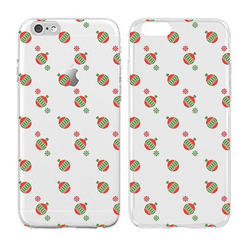 Christmas Iphone Case, Cool Christmas Gifts, Snowflakes, Grid Soft Flexible Transparent Skin, Scratch Proof Protective Slim Case for iPhone 5C