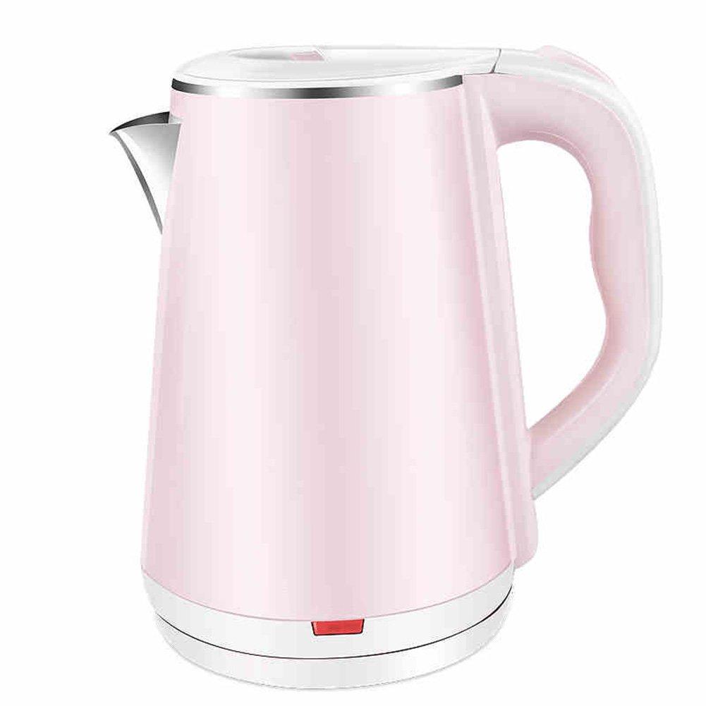 RY Kettle Calentador de agua eléctrico rosado de la caldera ...