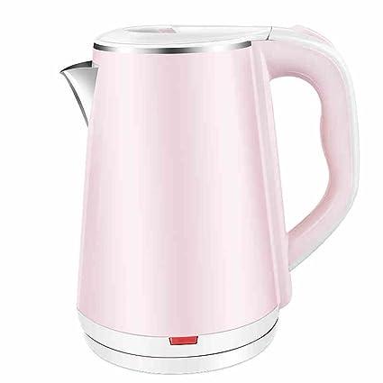RY Kettle Calentador de agua eléctrico rosado de la caldera Caldera casera de acero inoxidable de
