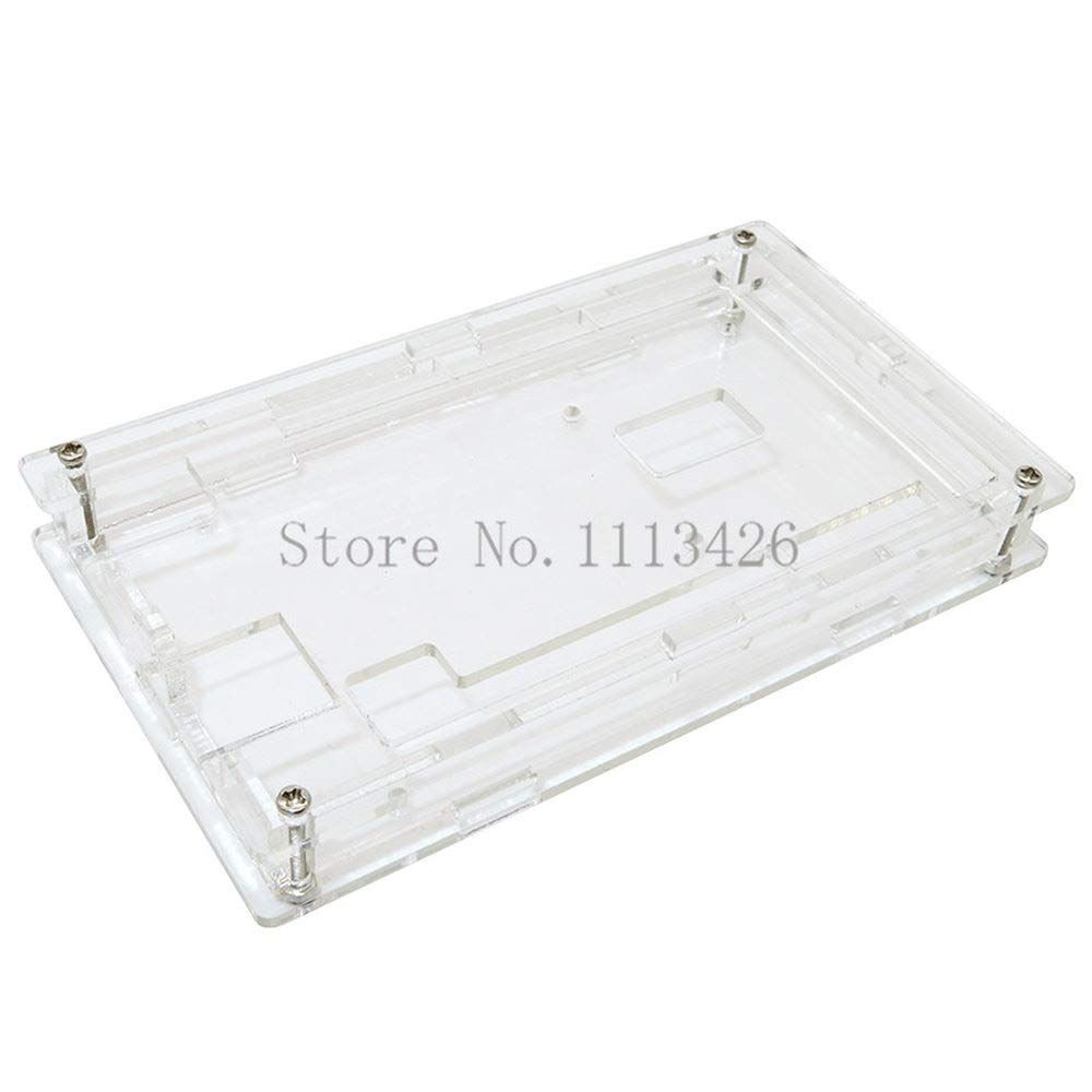 Enclosure Transparent Gloss Acrylic Box Compatible for Mega 2560 R3 Case