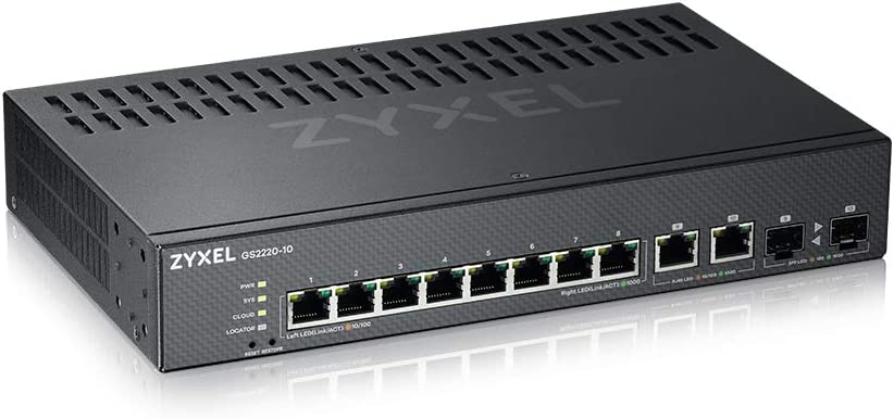 8-port GbE L2 Switch with GbE Uplink Zyxel GS2220-10