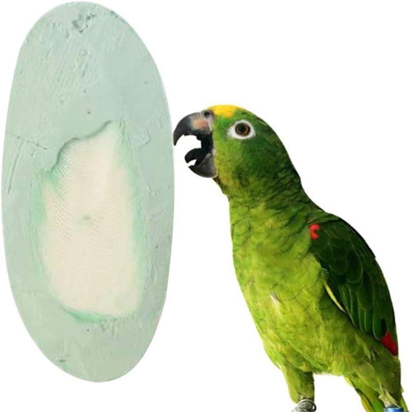 POPETPOP Juguetes de Loro Piedras molares Dientes molienda Piedra de Calcio Mineral de jibia para pájaros ratón Conejo Ardilla hámster Mascotas pequeñas (Color Aleatorio)