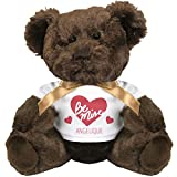 Be Mine Angelique Valentines Crush Gift: Small Plush Teddy Bear