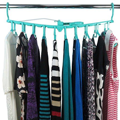 Hangerworld Plastic 10 Hanger Indoor & Outdoor Clothes Dryer