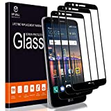 MP-MALL [3-Pack] Screen Protector for LG Stylo 3, [Tempered Glass][Full Cover] with Lifetime Replacement Warranty
