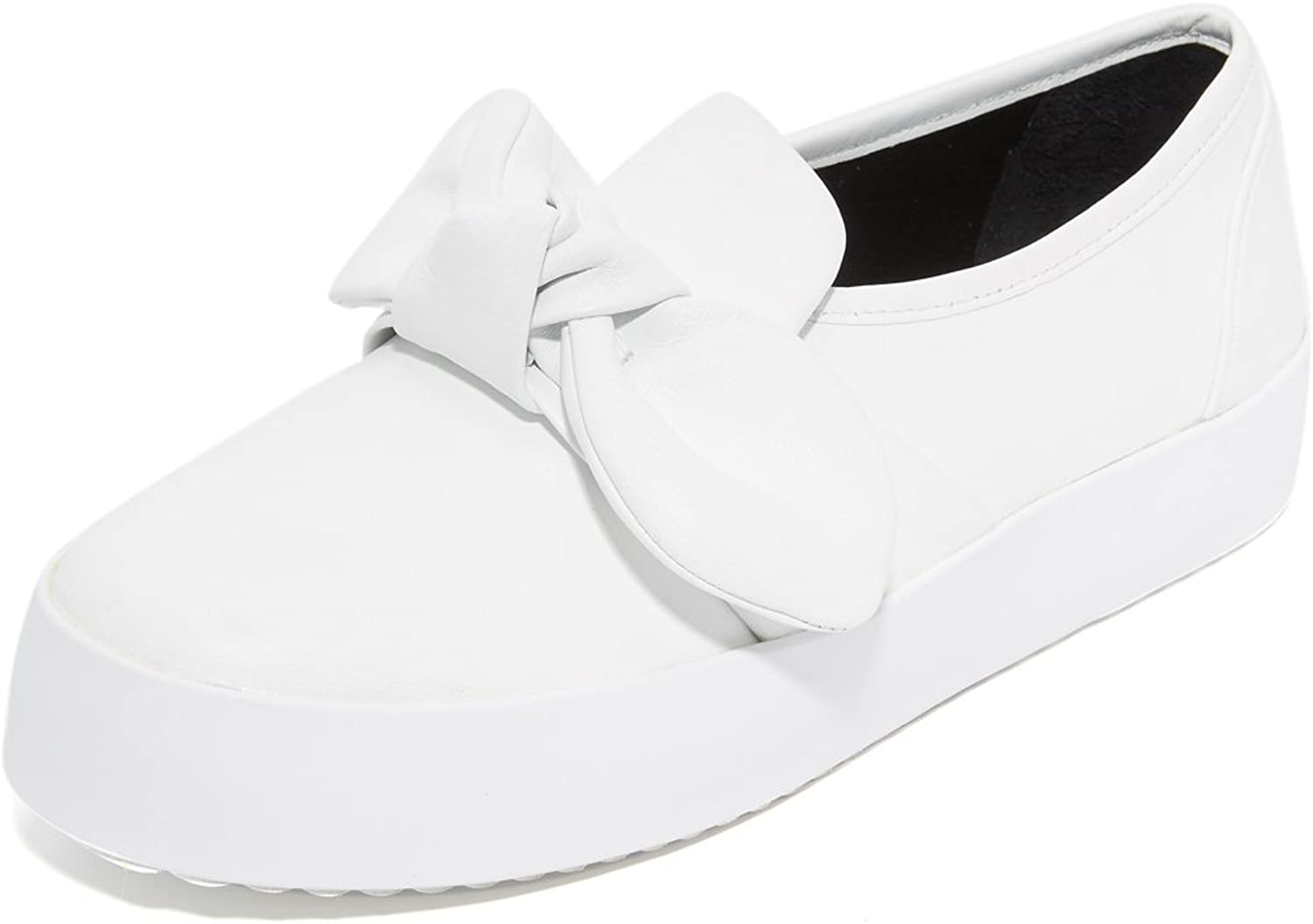 Stacey Leather Slip On Sneakers