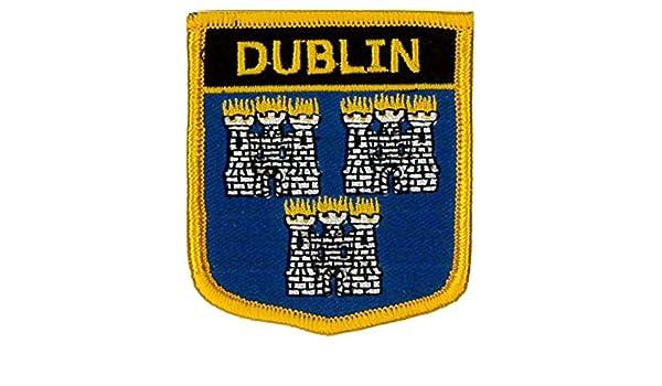 Irlanda Klicnow Dubl/ín 2/1//2/x 2/3//4/ Bordado Parche 6/cm x 7/cm
