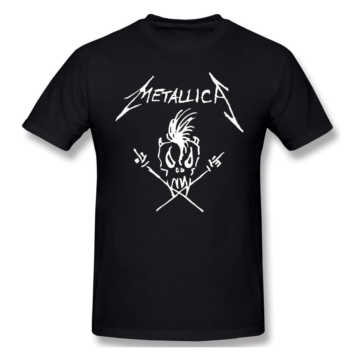 Mens Vintage Metallica Tshirt 4XL Black