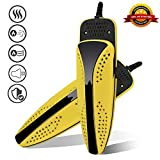 SmartElite Shoe Dryer, Portable Boots & Shoes Dryer, Deodorize and Sanitize Your Shoes, Noiseless Electric Foot Dryer for Shoes/Liners/Boots & Gloves, Eliminate Bad Odor/Bacteria & Mold (Yellow)