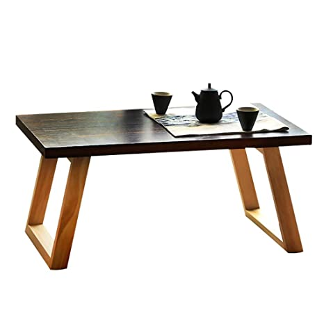 Amazon.com: Mesa de mesa de bahía con ventana, mesa de café ...