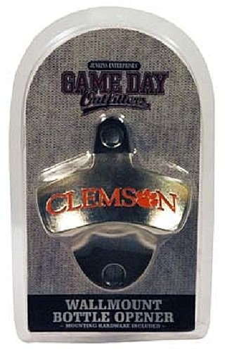 best loved 82961 15d1e Game Day Outfitters NCAA Clemson Tigers Wall Mount Bottle Opener, One Size,  Multicolor