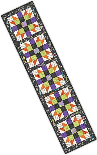 Halloween Table Runner Quilt Patterns (Meg Hawkey Salem Quilt Show Sister's Choice Table Runner Pod Quilt Kit Maywood)