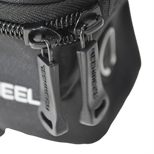 """Roswheel Radfahren Rahmen Pannier vorne Rohr Handy 5.5"""" Tasche - Blau"""