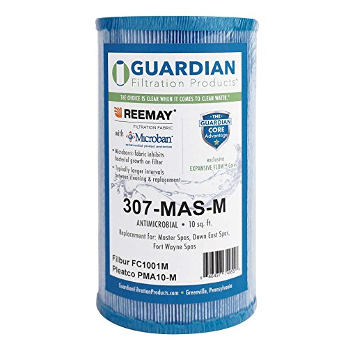 Guardian Spa Filter Replaces PMA10-M Eco Pure Microban Antimicrobial Master Spa Inner Filter