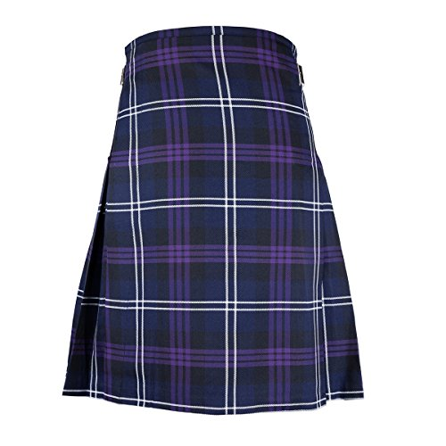 "(Best Kilts Men's Scottish 5 Yard Party Kilt Heritage Of Scotland 30""-32"" Purple)"