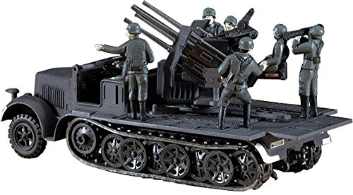 HASEGAWA 31114 SdKfz7 8-Ton Half Track with Quad 20mm AA Guns (1/72 Scale)