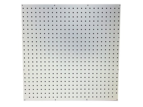White Poly Pegboard – 24 in. x 24 in.