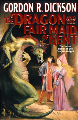 book cover of The Dragon and the Fair Maid of Kent