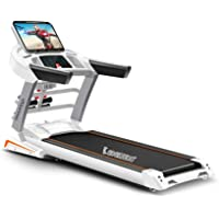 Cockatoo CTM-02 Semi Commercial 4 HP Peak Motorised Auto-Incline, Multi-Function Treadmill & Auto Lubrication(Free Installation Assistance)