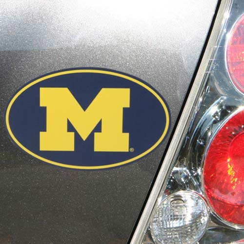 Michigan Wolverines Oval Magnet
