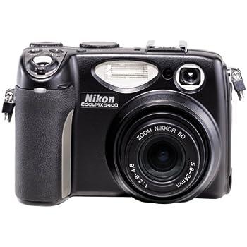 Nikon Coolpix 5400 5.1 MP Digital Camera w/ 4x Optical Zoom