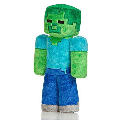 Jinx Minecraft Overworld – Zombie Plush, 12″ image