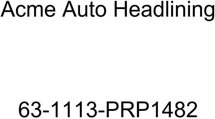 Acme Auto Headlining 63-1113-PRP1482 Medium Blue Replacement Headliner Buick Riviera 2 Door Hardtop 6 Bows