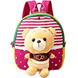 MATMO 3D Cute Cartoon Little Plush Baby Backpack Baby Toy Bag
