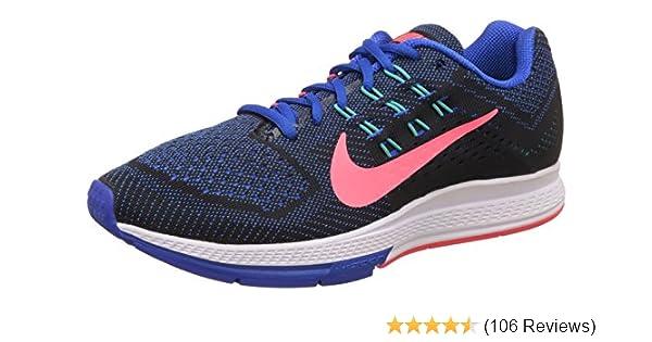 debeee5b01 Amazon.com | Nike Men's Air Zoom Structure 18 Hypr Cblt/Hypr Pnch/Blk/Hupr  J Running Shoe 13 Men US | Road Running
