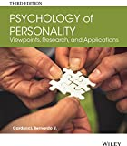 Psychology of Personality - Viewpoints, Research,and Applications 3e