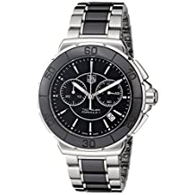 Tag Heuer Women's Formula One Chronograph Watch Black CAH1210.BA0862