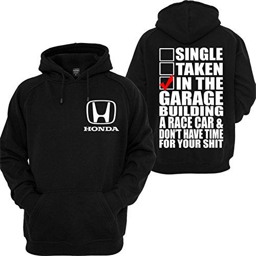 (Honda Custom Hoodie ATV Civic CBR Motorsport Racing JDM Turbo Cars Sweatshirt )
