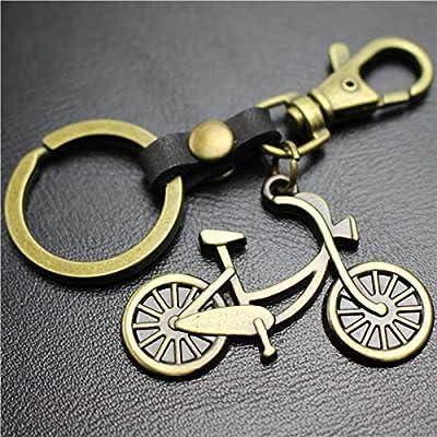 VYZSD Alas de ángel de Cuero Regla de Bicicleta Colgante Gancho de ...
