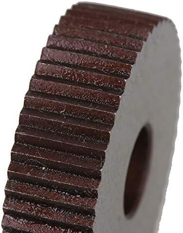 NO LOGO Rändelwerkzeug 2ST 2.0mm Rad Knurl HSS Wälzfräser Straight Grain Rad Knurled Lathe Prägeradabschnitt Werkzeugmaschinen Zubehör Hebt