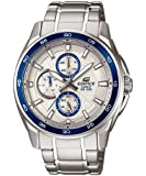 Casio Edifice Silver Dial Men's Watch - EF-334D-7AVDF (ED422)