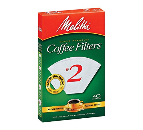 Melitta 622704 White Coffee Filters product image