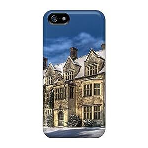 Excellent Design Snow Abbey Phone Case For Iphone 5/5s Premium Tpu Case