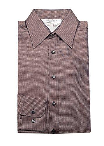Yves Saint Laurent Men's Cotton Point Collar Dress Shirt - Yves Laurent Saint Clothes