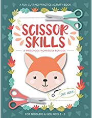 Scissor Skills Preschool Workbook for Kids: A Fun Cutting Practice Activity Book for Toddlers and Kids ages 3-5: Scissor Practice for Preschool Children | Over 40 Pages of Fun Animals, Shapes and Patterns