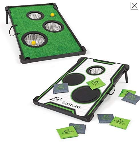 EastPoint 2 in 1 bean bag toss & Chip N score golf by EastPoint