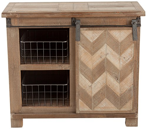Winsome House Sliding Door Console Cabinet by Winsome House