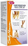 Sally Hansen Hair Remover Wax Strips for Body, Legs, Arms & Bikini, 30 ea