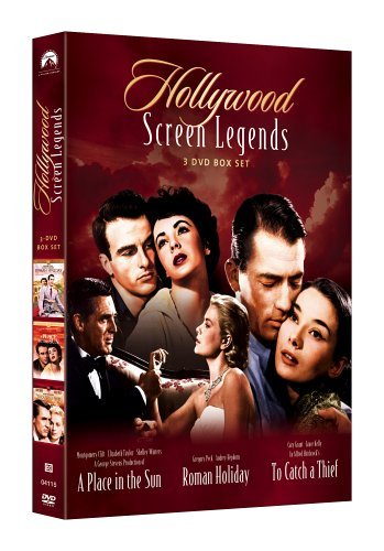 Hollywood Screen Legends (A Place in the Sun / Roman Holiday / To Catch a Thief) (Montgomery Clift A Place In The Sun)