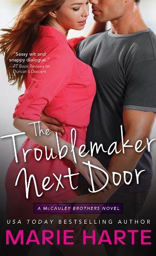 Happy Halloween Lover (The Troublemaker Next Door (The McCauley Brothers Book)