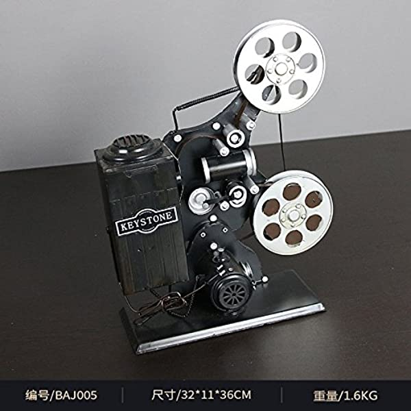 GFEI Vintage Retro - nostálgico viejo proyector de cine modelo ...