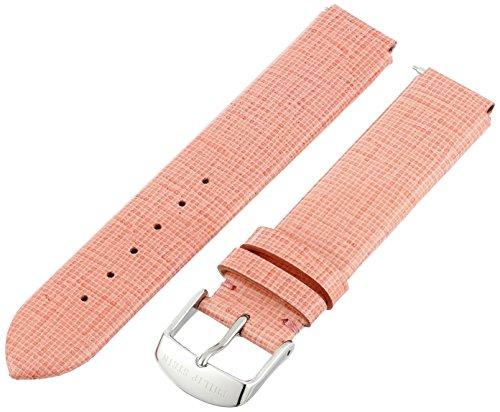 Philip Stein 1-CSWRO 18mm Leather Calfskin Pink Watch Strap